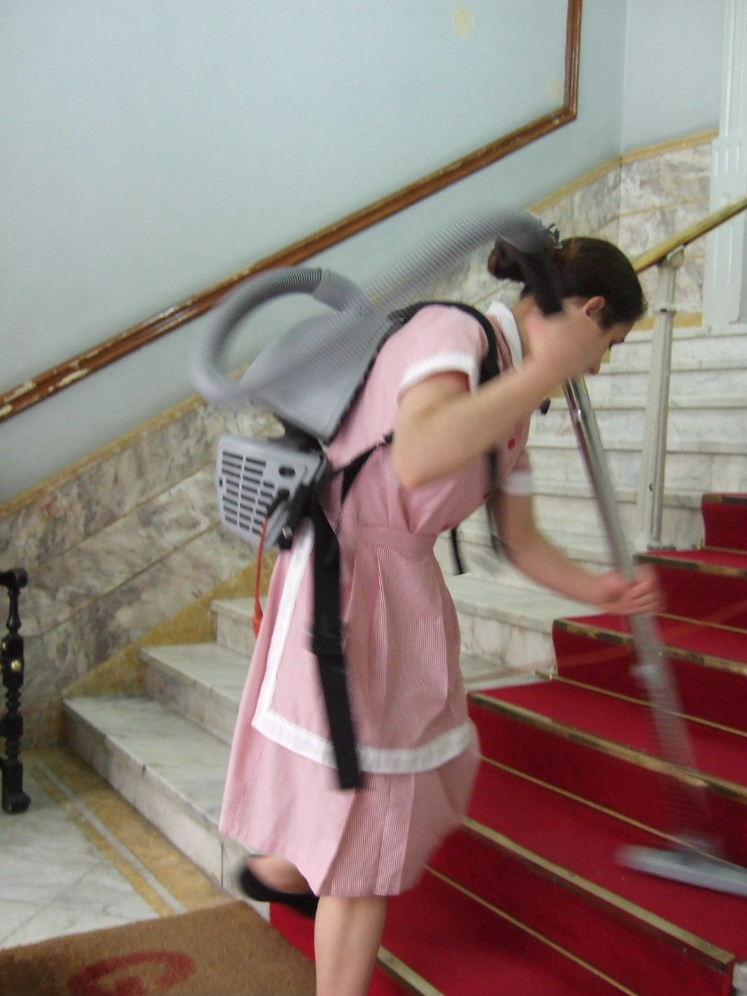 489Porto Hotel Paris背負い掃除機