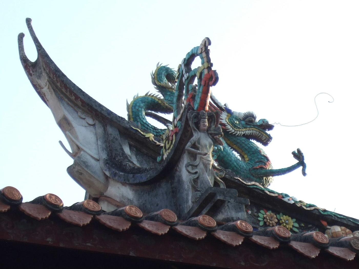 023泉州天後宮屋根飾り