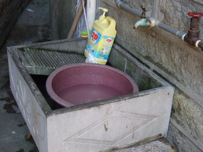 079崇武古城洗濯板