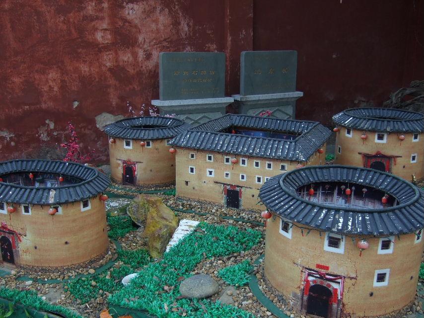 137文廟土楼模型