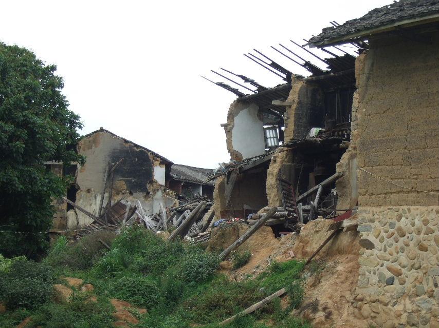 183在田楼洪水被害