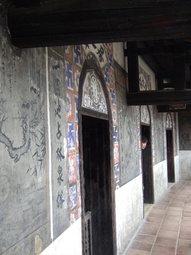 258二宜楼ベランダ壁画