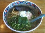 いずみ 竹炭麺塩味