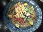 Navajo White 夏野菜がうれしい胡麻味噌冷麺