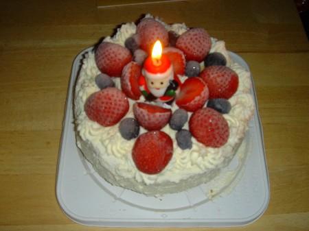 2005年度クリスマスケーキ