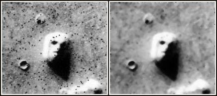 火星人面岩