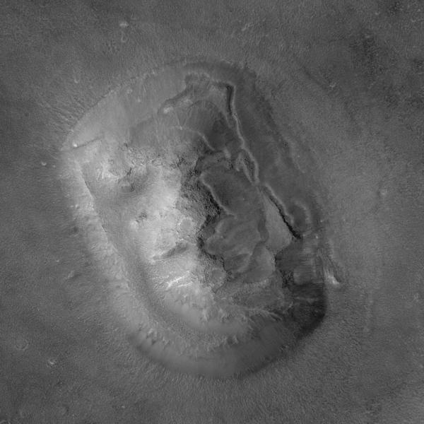 火星人面岩2