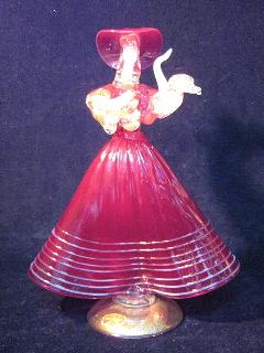 ムラノガラス人形1
