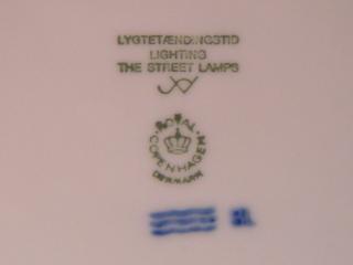 ロイヤルコペンハーゲンイヤープレート1996年-3