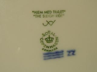 ロイヤルコペンハーゲンイヤープレート1999-3