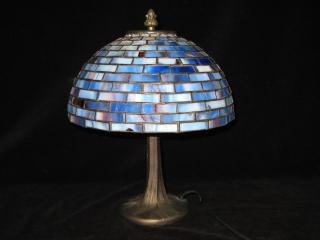 ブルーステンド照明1