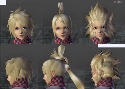 いつの間にか追加されてた♂髪型