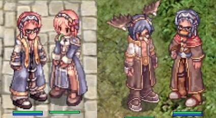 色合い的に双子