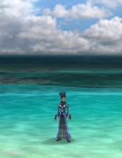 海と空と輝くデコ