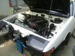AE86 復活プロジェクト 新エンジン搭載完了01