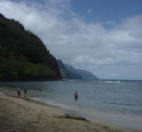 Ke'e Beach Napali 海岸