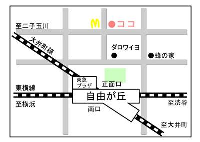 小さなギャラリーmap