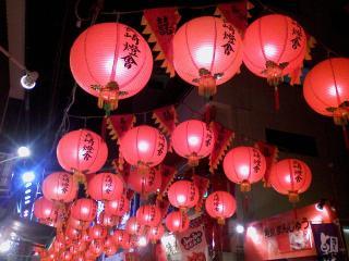 中華街ランタン1