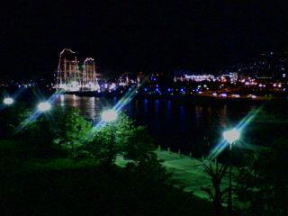 2008 長崎帆船ライトアップ(歩道橋上)