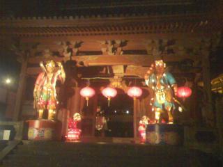 興福寺三門ランタン