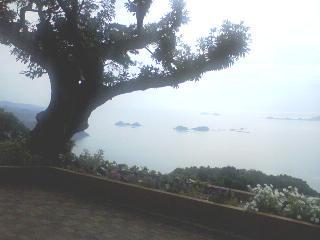 善長谷教会からの風景