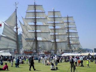 2007長崎帆船まつり 日本丸