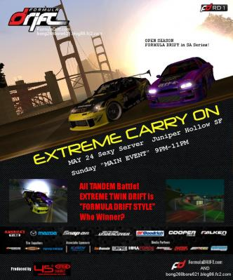 Formula Drift in SA Rd.1