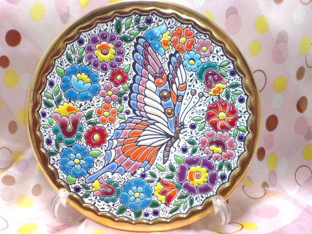 スペインの絵皿