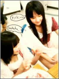 イメージ 20110215 9期(譜久村聖、鞘師里保)