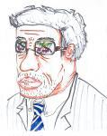 サラサドウダン:眼鏡に映る