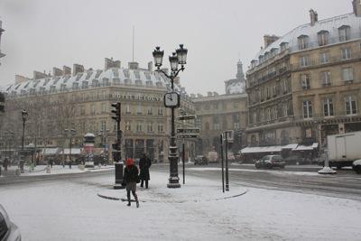 パリ 雪3