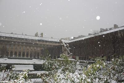 パリ 雪2