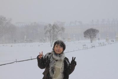 パリ 雪7