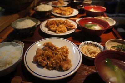 鶏の唐揚げ 葱ソース