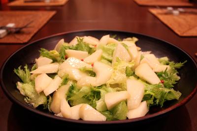 洋梨サラダ