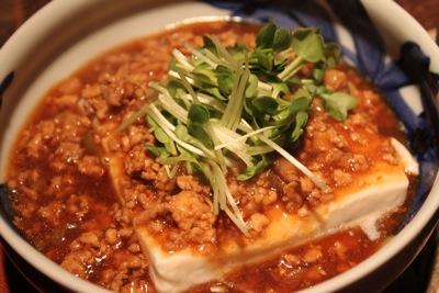 マーボー湯豆腐2