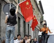 中国ミラノ暴動2