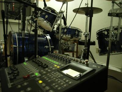 ドラムセットも凄い