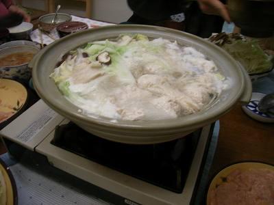 冬と言えば鍋