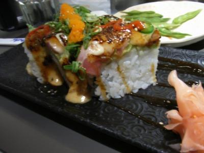 スパイシー寿司は人気な模様