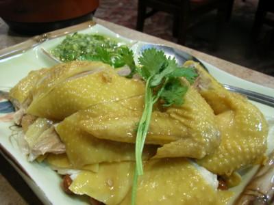 冷製蒸し鶏