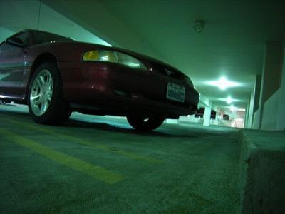 よ~るの~駐車場で~