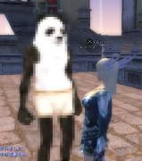 パンダさん・・・変身すると白い虎さん