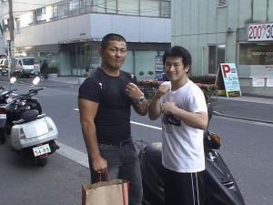 パンクラス王者 鈴木みのる選手と