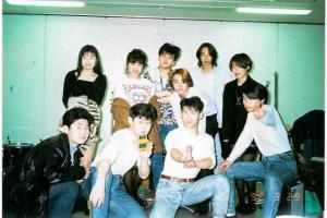 1990年バンドメンバーと