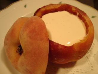 桃のまるごとスープ