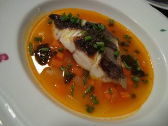 石鯛のスープ仕立て