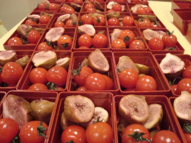 イチジクのコンポートとFトマト