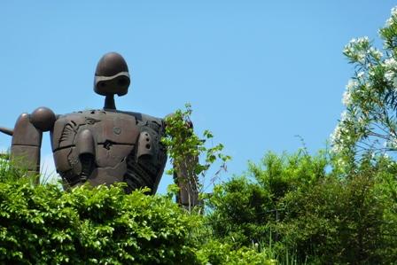 blog_ジブリ美術館のロボット070609