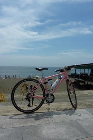 blog_自転車と海の家200609